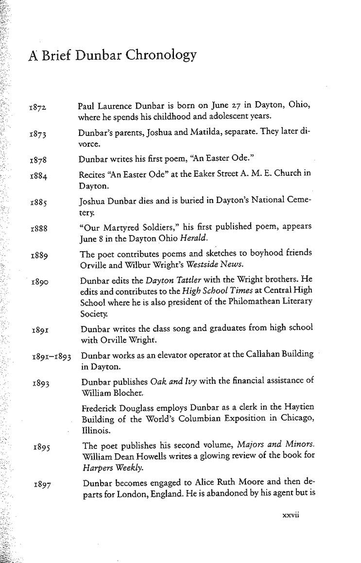 dunbar-chronology-1
